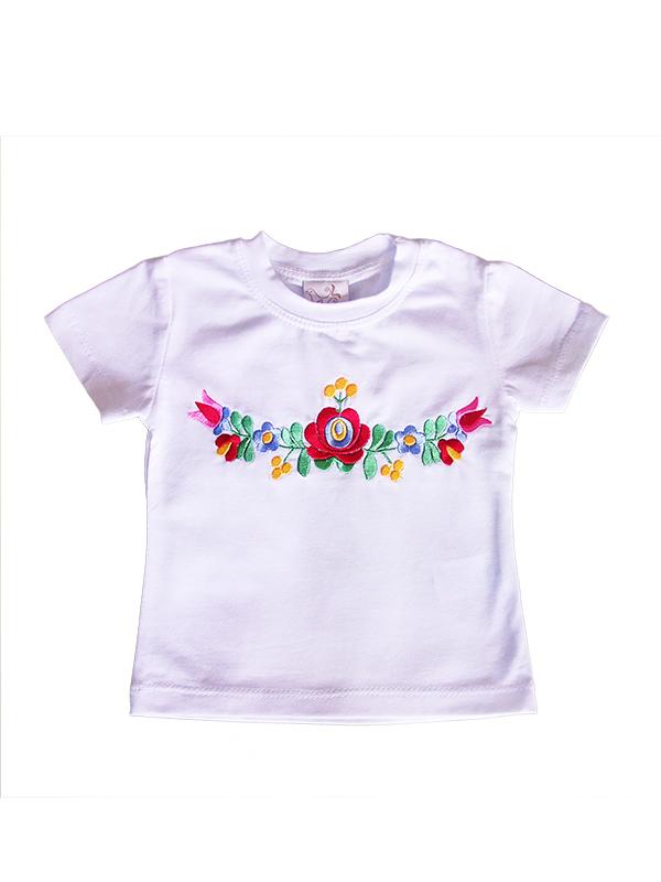 2a2e68e770 kalocsai mintás bébi póló webshop ár: 2.990 Ft